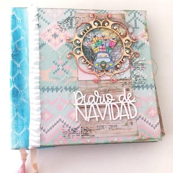 Mini album navidad silvia santoyo