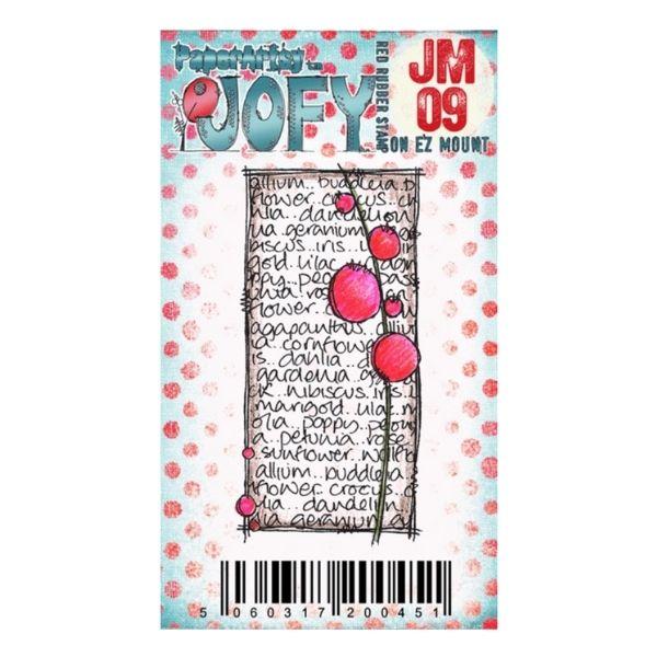 Sello Caucho JM09 Jofy Paperartsy | Marakiscrap.com