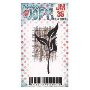Sello Caucho JM39 Jofy Paper Artsy | Marakiscrap.com