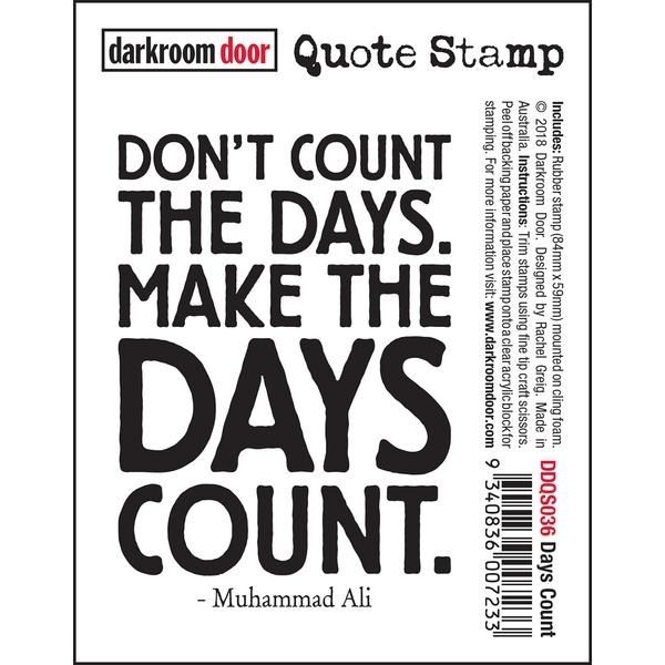 Sello Caucho Quote Stamp Muhammad Ali Darkroom Door   Marakiscrap.com