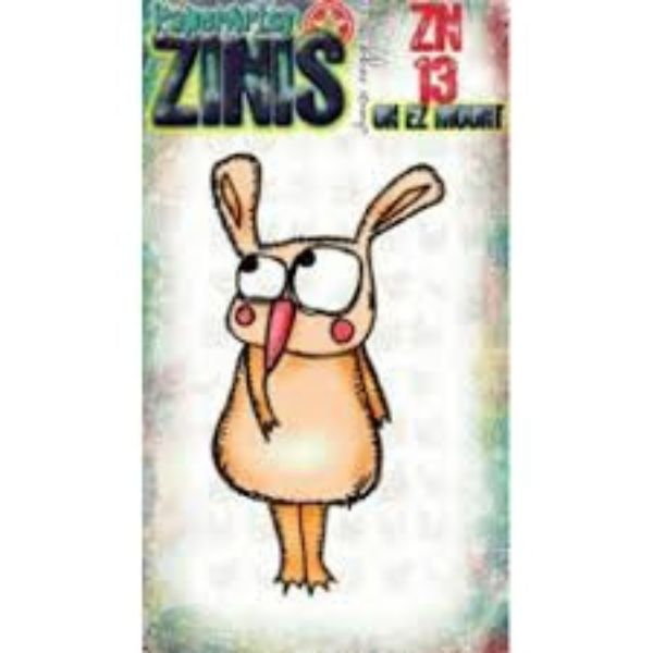 Sello Caucho ZN13 Zinis Paper Artsy   Marakiscrap.com