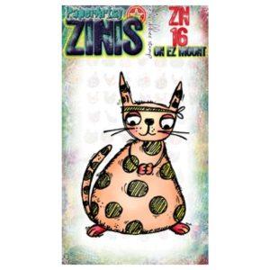 Sello Caucho ZN16 Zinis Paper Artsy | Marakiscrap.com