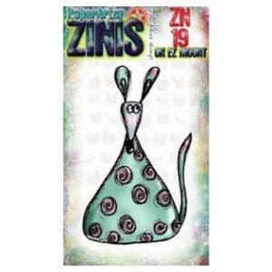 Sello Caucho ZN19 Zinis Paper Artsy | Marakiscrap.com