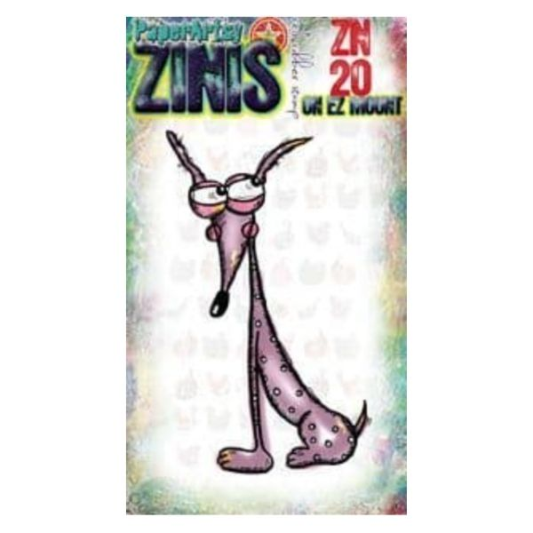 Sello Caucho ZN20 Zinis Paper Artsy | Marakiscrap.com