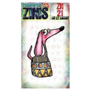 Sello Caucho ZN21 Zinis Paper Artsy | Marakiscrap.com