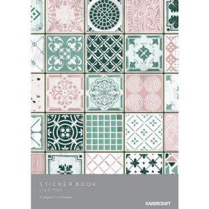 Sticker Book Liliy and Moss Kaisercraft | Marakiscrap.com