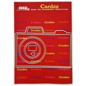 Troquel Camera Cardzz Crealies | Marakiscrap.com
