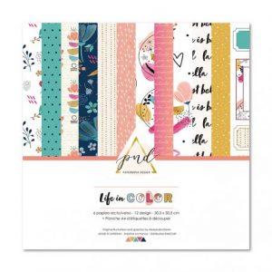 Coleccion life in color papernova design