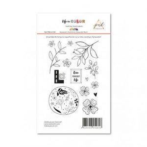 Sellos acrilicos live life papernova design