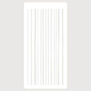stencil lineas verticales