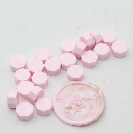 pastillas de cera lacre rose layette