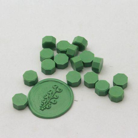 pastillas de cera lacre vert layette