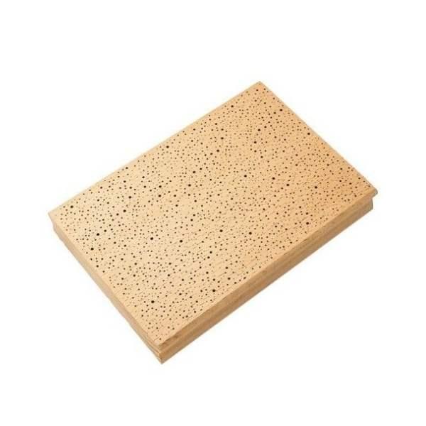 sello de madera textura nieve