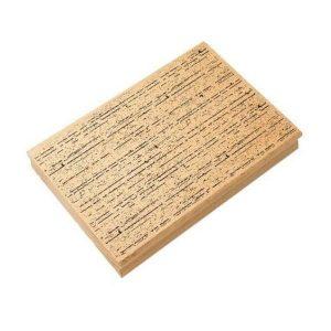 sello de madera textura rayas