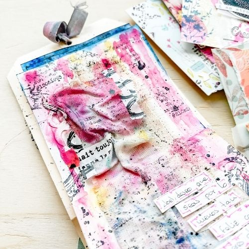 art journal sueños marzo 1