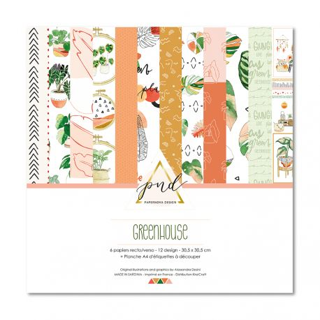coleccion greenhouse papernova design