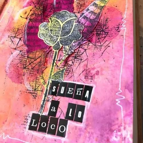 art journal sueña a lo loco