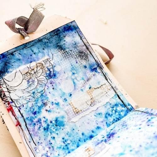 art journal sueños de febrero