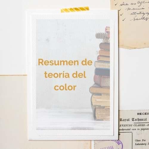 resumen teoria del color