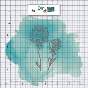 troqueles rosas diy and cie