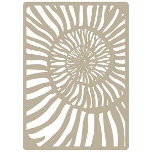 Stencil 60 Caracola Mya Wega Elite | Marakiscrap.com