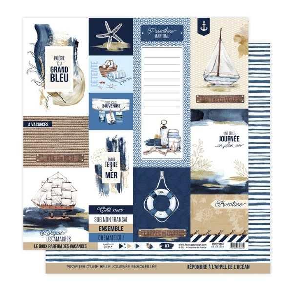 Kit papeles 30x30 Vue sur mer 7