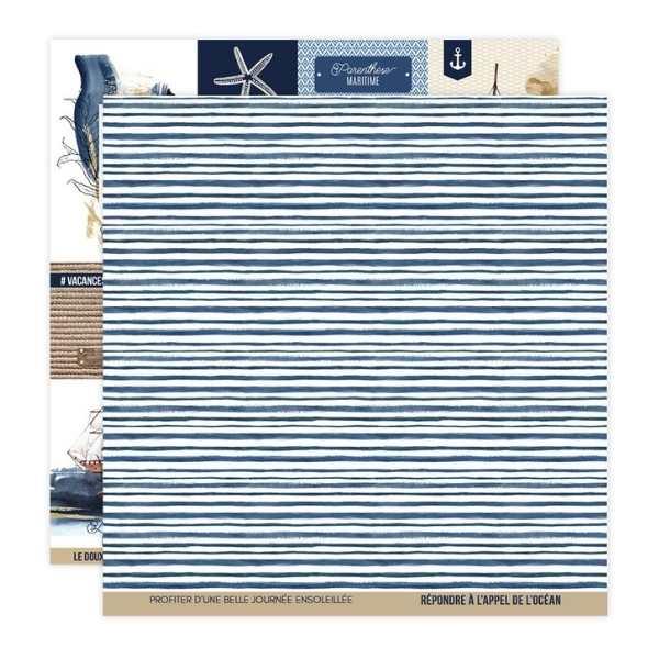 Kit papeles 30x30 Vue sur mer 8