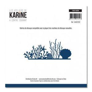 Troquel a contre courant fond marin les ateliers de karine