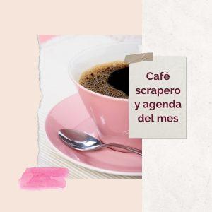 cafe scrapero y agenda