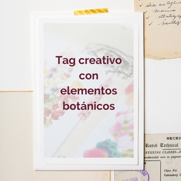 tag creativo botanico