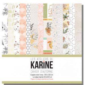 coleccion de scrap cahier d automne les ateliers de karine