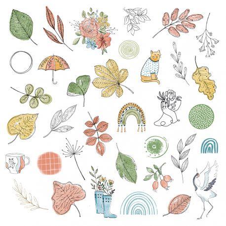 die cuts vellum cahier d automne