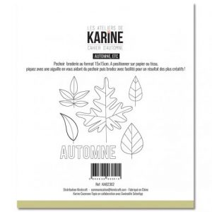 plantilla de bordado cahier d automne automne etc les ateliers de karine