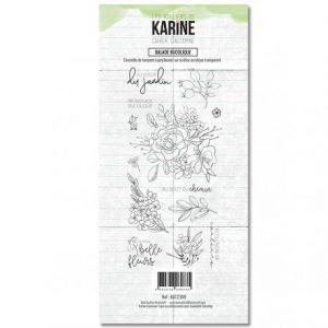 sello acrilico cahier d automne balade bucolique les ateliers de karine
