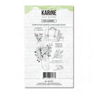 sello acrilico cahier d automne c est la rentree les ateliers de karine