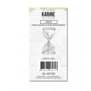 sello acrilico cahier d automne sablier les ateliers de karine