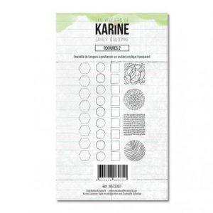 sello acrilico cahier d automne extures 2 les ateliers de karine