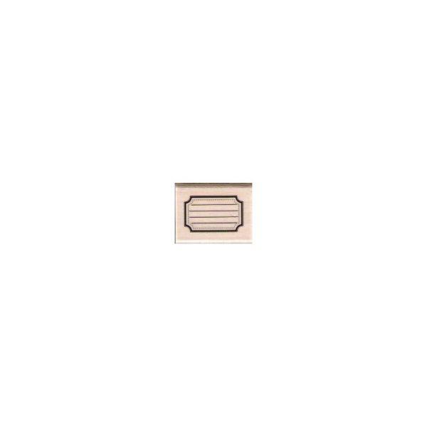 sello de madera etiquette ecole de florileges | marakiscrap