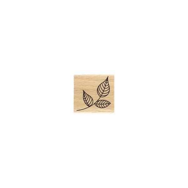 sello de madera petit feuillage de florileges | marakiscrap