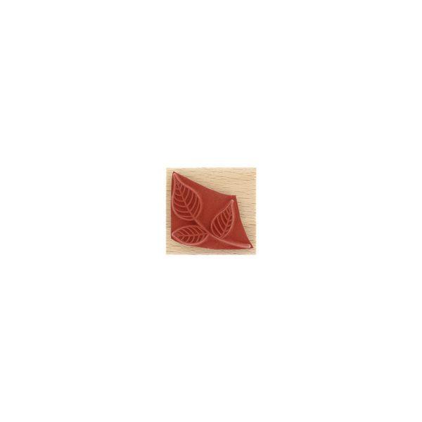 sello de madera petit feuillage de florileges caucho | marakiscrap