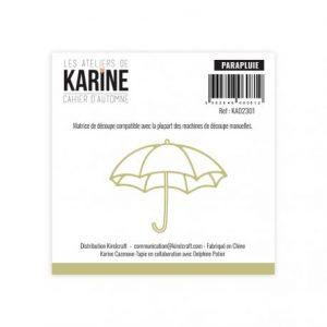 troquel cahier d automne parapluie les ateliers de karine