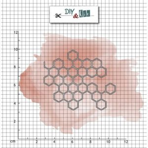 troquel nid d abeille diy and cie | marakiscrap