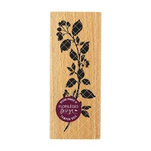 sello de madera branche courbee
